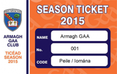 Armagh Club Season Ticket