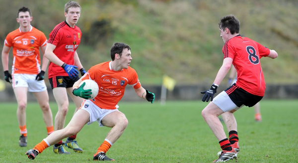 Minors: Armagh 1-08 Down 0-08
