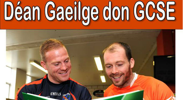 Armagh GAA stars support the Irish Language