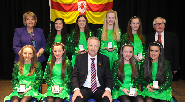 Ulster title success in the Scór na nÓg final