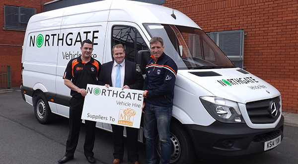 Armagh GAA speeds ahead with Northgate Vehicle Hire