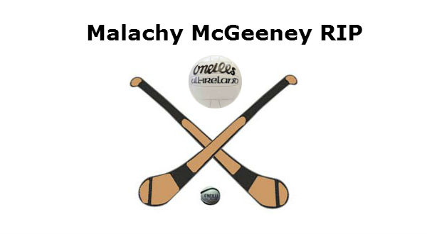 Tribute to Malachy McGeeney RIP