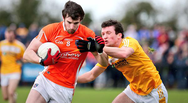 Armagh ease to victory over Antrim