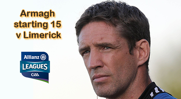 Armagh name team to face Limerick