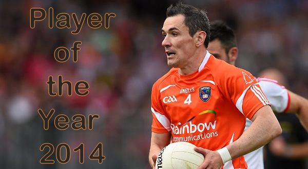 Andy Mallon – Player of the year 2014