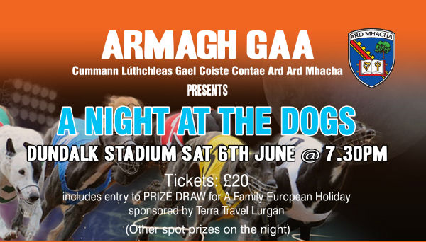 Armagh presents – Night at the Dogs
