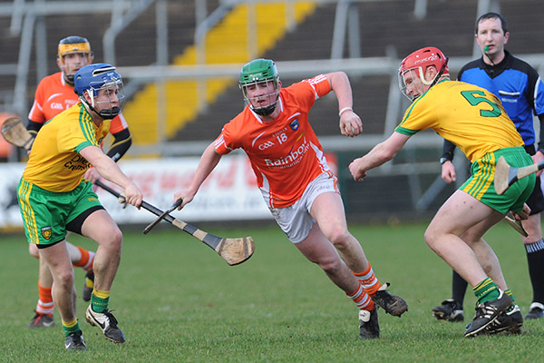 Armagh hurlers host Donegal