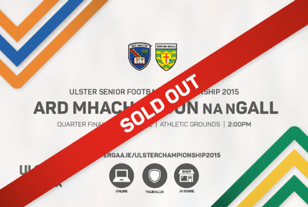 Sundays game Sold Out