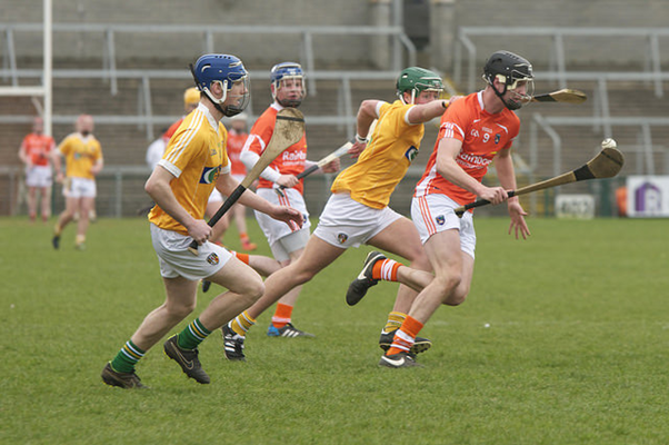 Armagh minor hurlers in Ulster Championship action
