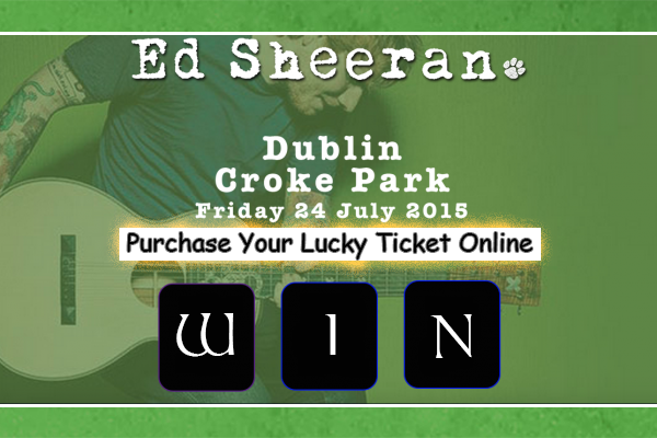 Ed Sheeran Tickets Competition