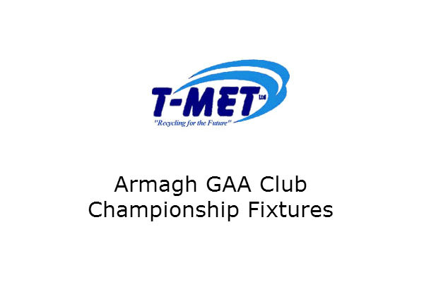 Armagh Championship fixtures