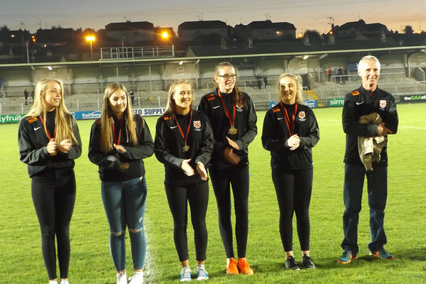 Handballers honoured in Armagh
