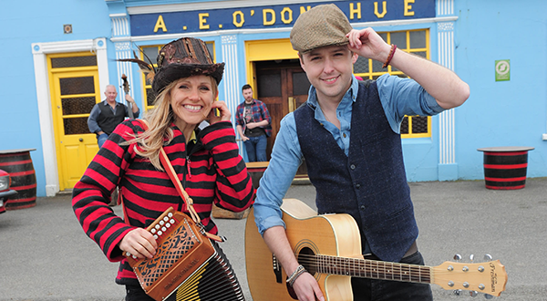 DEREK RYAN & SHARON SHANNON TEAM UP FOR ATHLETIC GROUNDS DANCE CONCERT