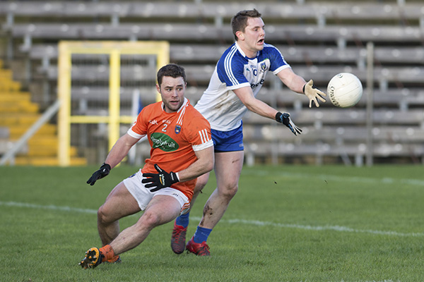 Armagh defeat Monaghan in McKenna Cup