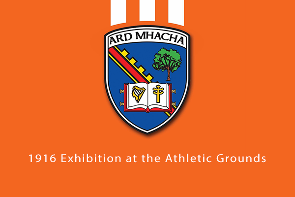 1916 Exhibition at the Athletic Grounds