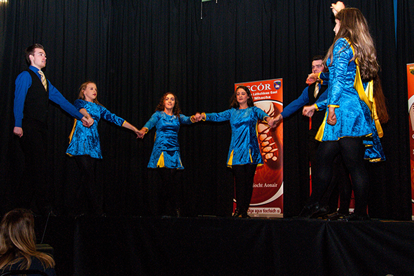 Armagh celebrate two Scór na nÓg titles