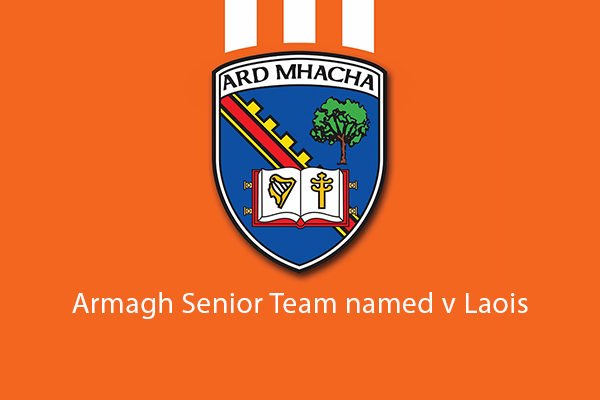 Team named v Laois