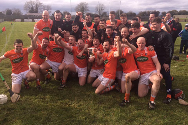 Hurlers claim historic league title