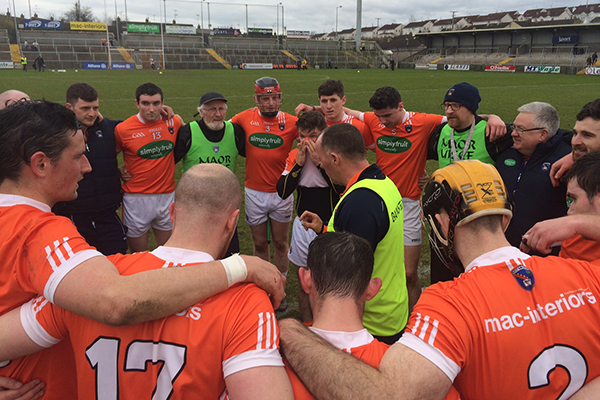 Armagh hurlers see off Donegal Challenge