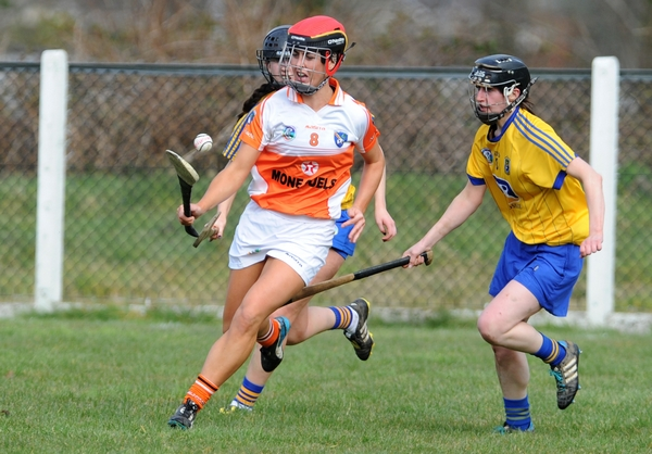 Armagh Camogs unbeaten after tough Rossies win