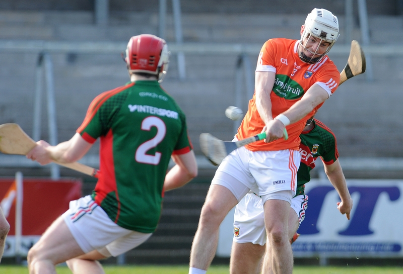 Armagh hurlers slump to defeat