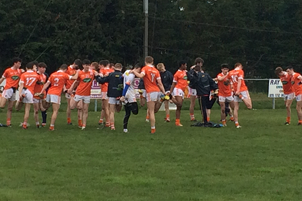 Armagh minors look forward to Cavan game