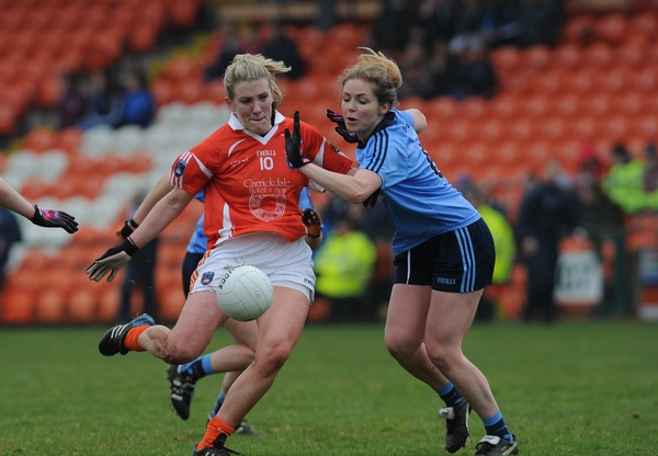 Photos: Armagh ladies v Dublin