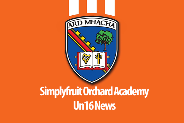 Simplyfruit Academy Under 16 Saturday 16th July