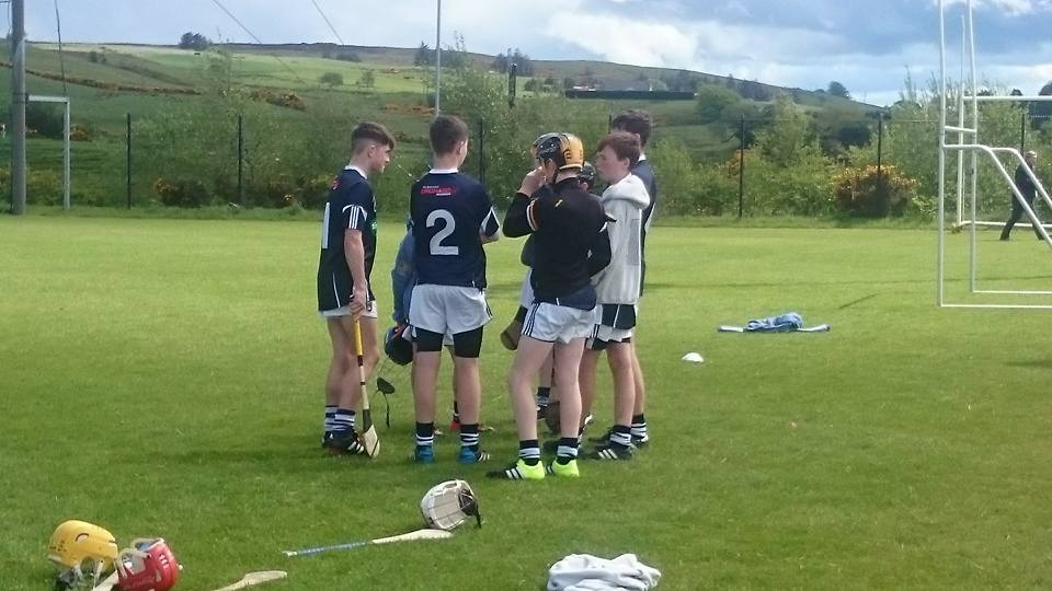 Armagh U14 hurlers take part in Garvaghey blitz