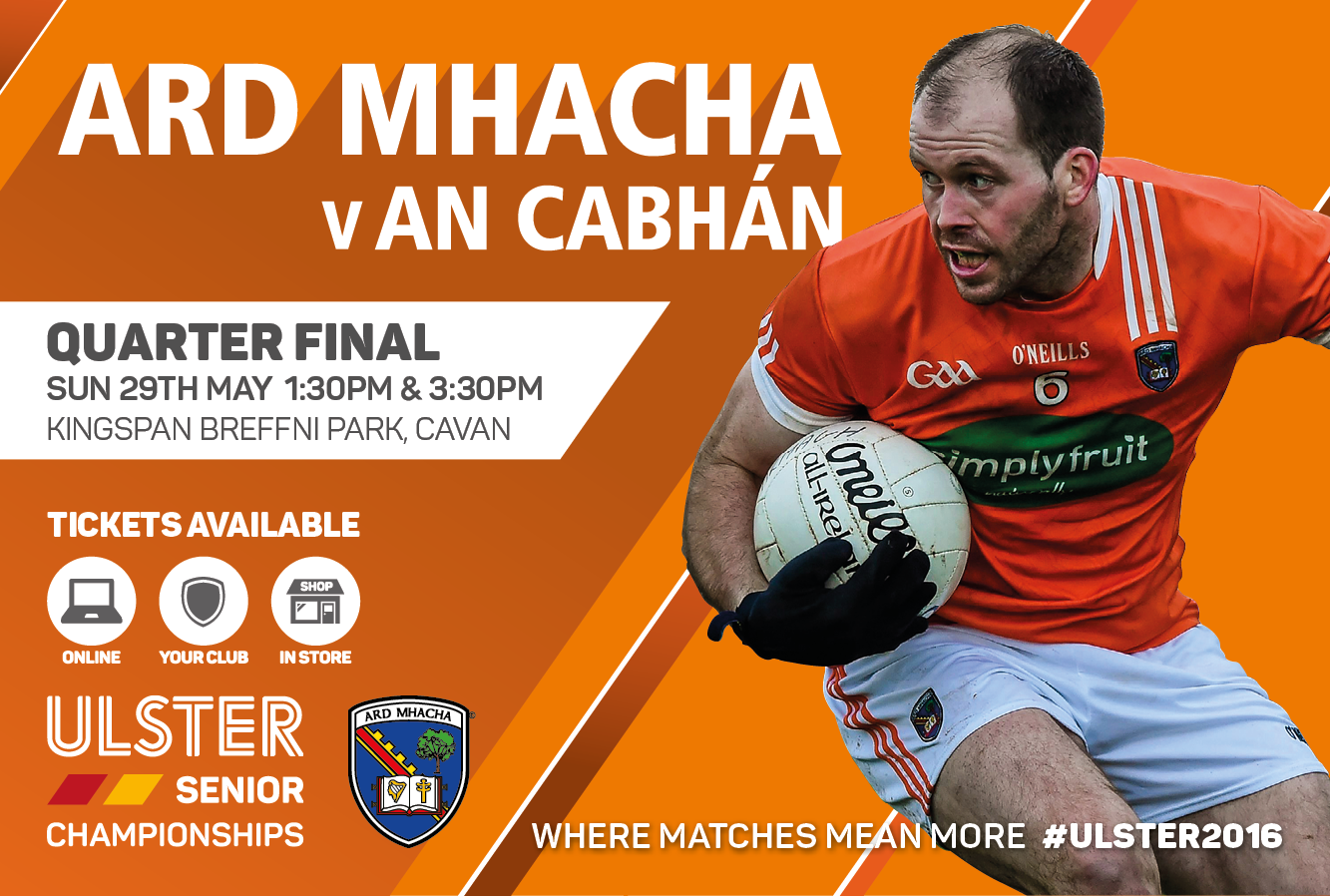 Travel advice for Armagh v Cavan