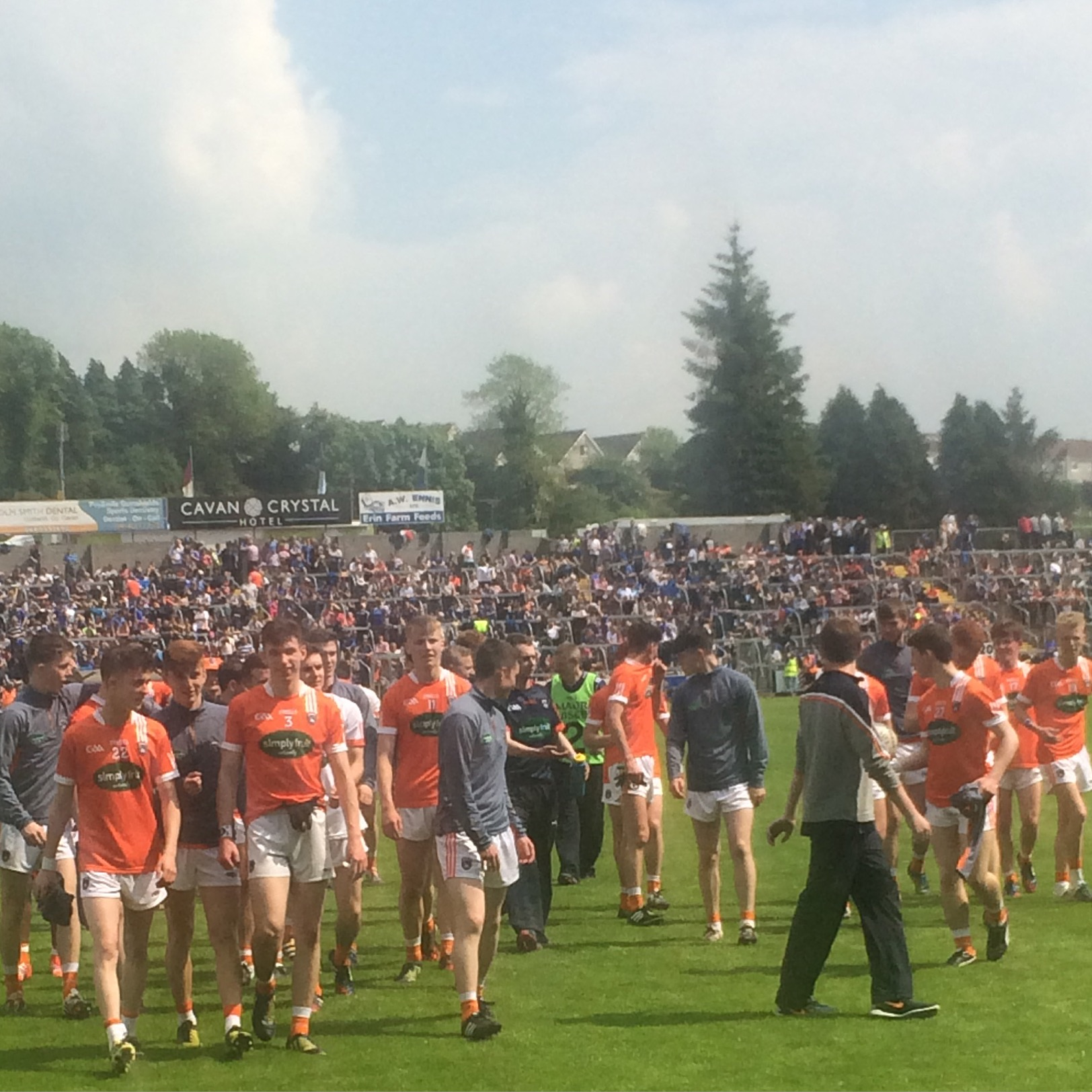 Armagh Minors too strong for Cavan