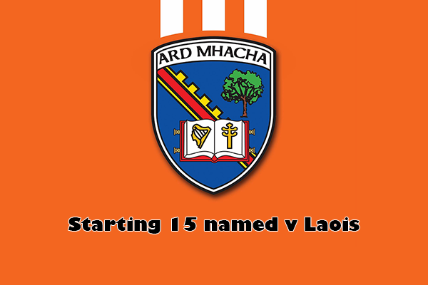 Team v Laois has been named