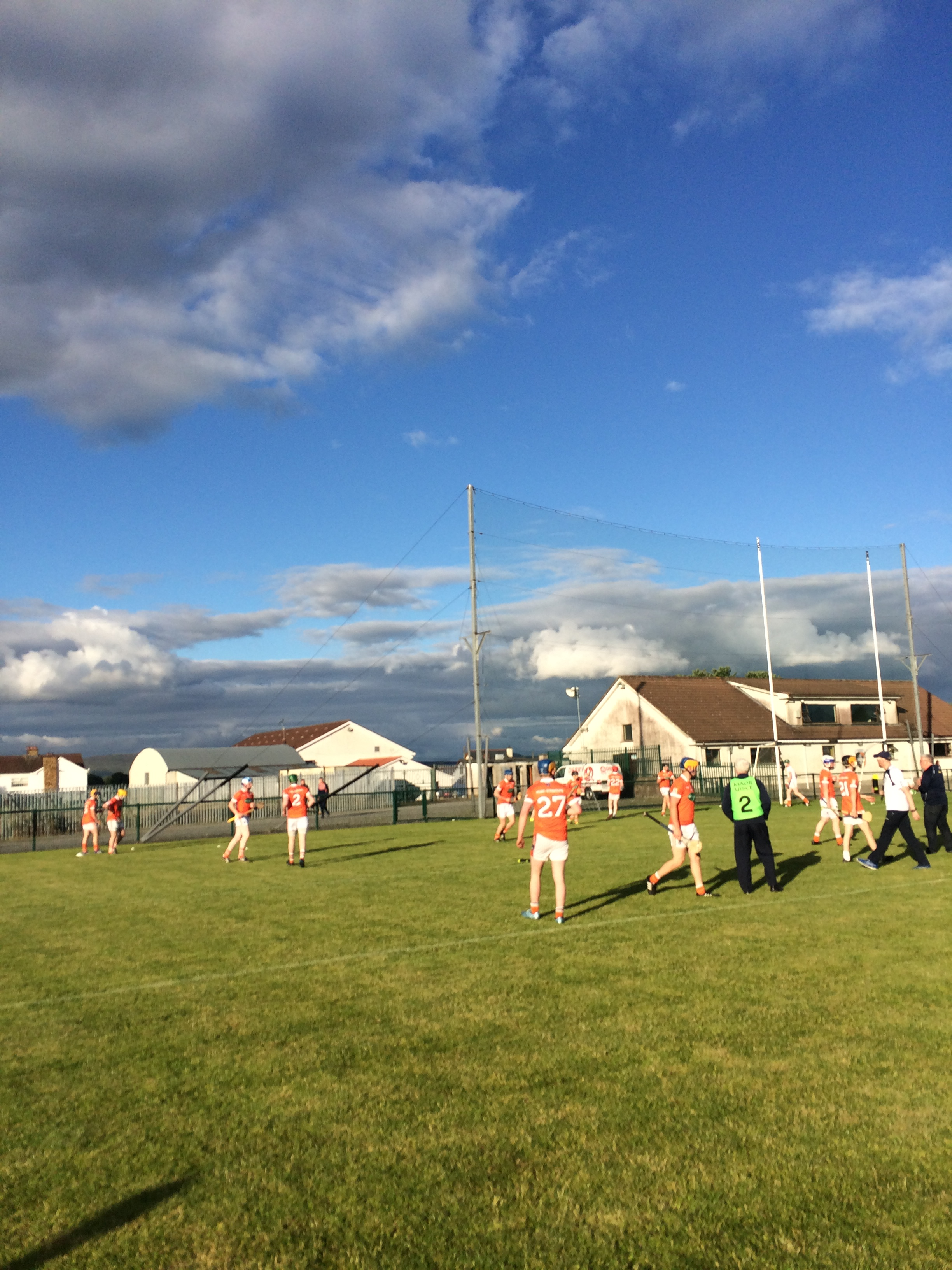 U21 hurlers lose out to Derry