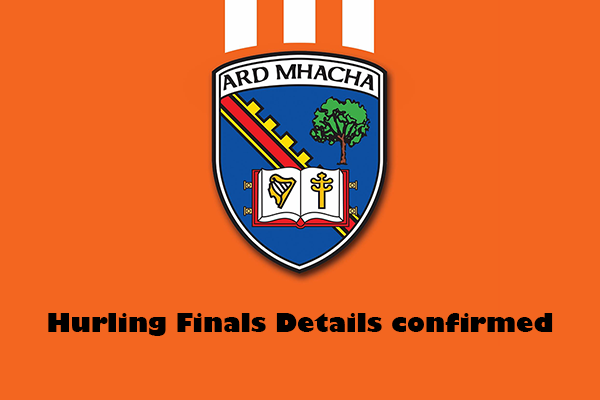 Armagh Club Hurling Finals confirmed