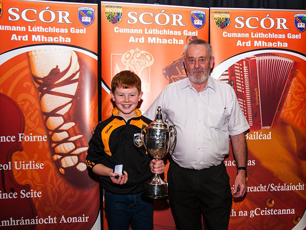 Armagh clubs in Ulster Scór na nÓg Final