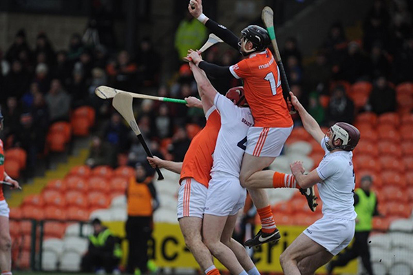 Armagh hurlers narrowly lose out