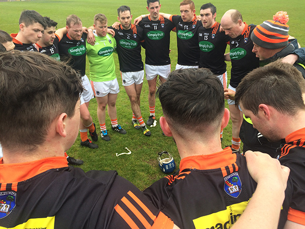 Armagh hurlers advance in Nicky Rackard Cup
