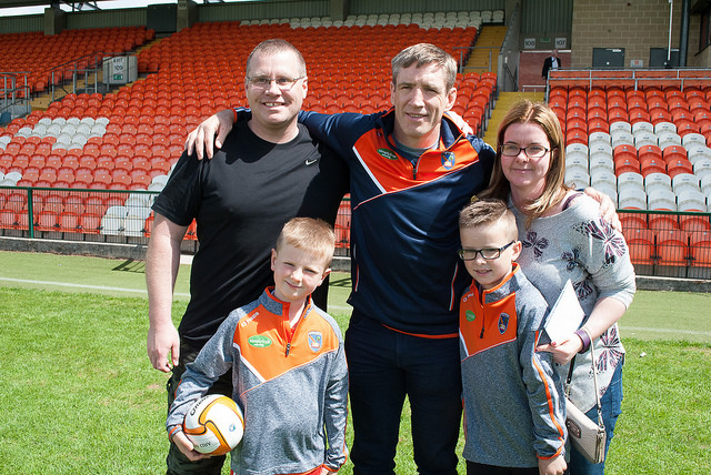 HUNDREDS ATTEND ARMAGH GAA FANS OPEN DAY