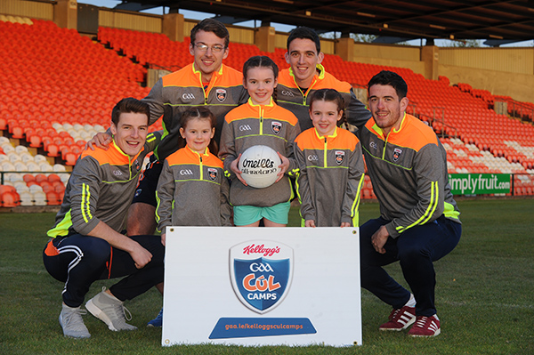 ARMAGH GAA KELLOGGS CUL CAMPS LAUNCHED