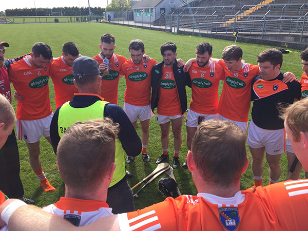 Armagh hurlers defeat Longford