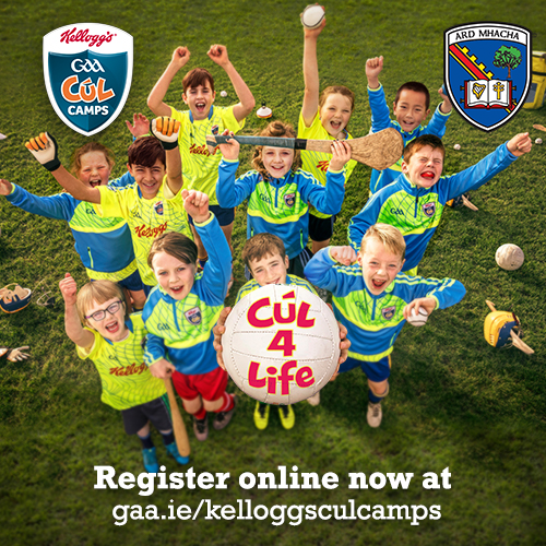 Link to Armagh Kellogg's GAA Cúl Camps post