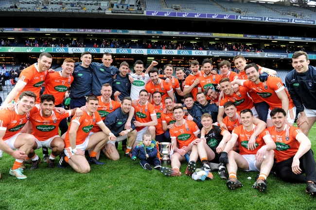 Armagh Win Division Three Title