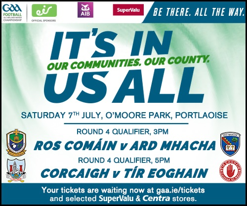 Qualifier Round 4: Armagh v Roscommon