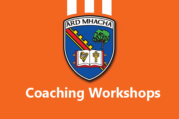 Armagh Skills Coach Workshops 2019