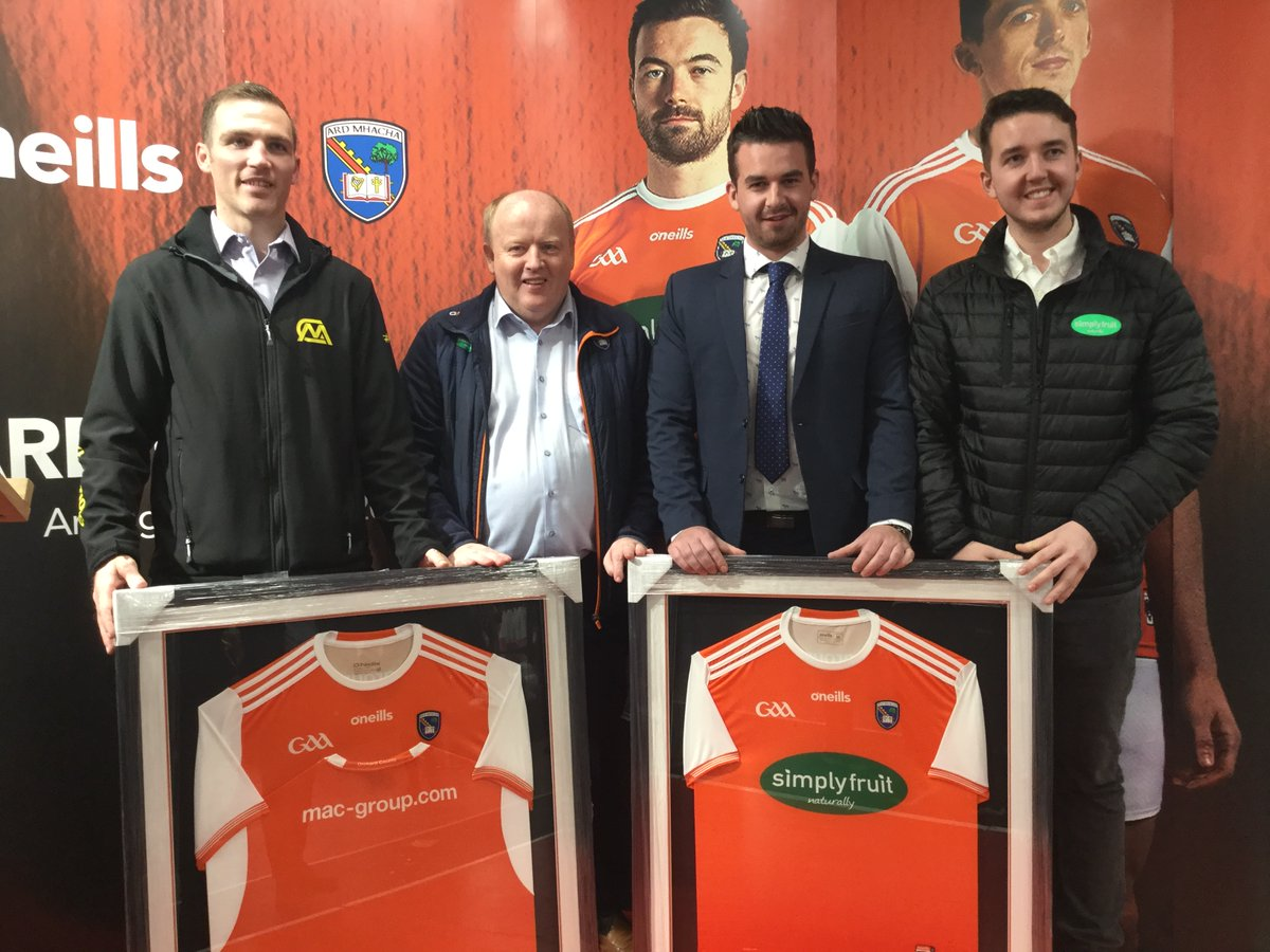 Armagh GAA unveils new Home Jersey