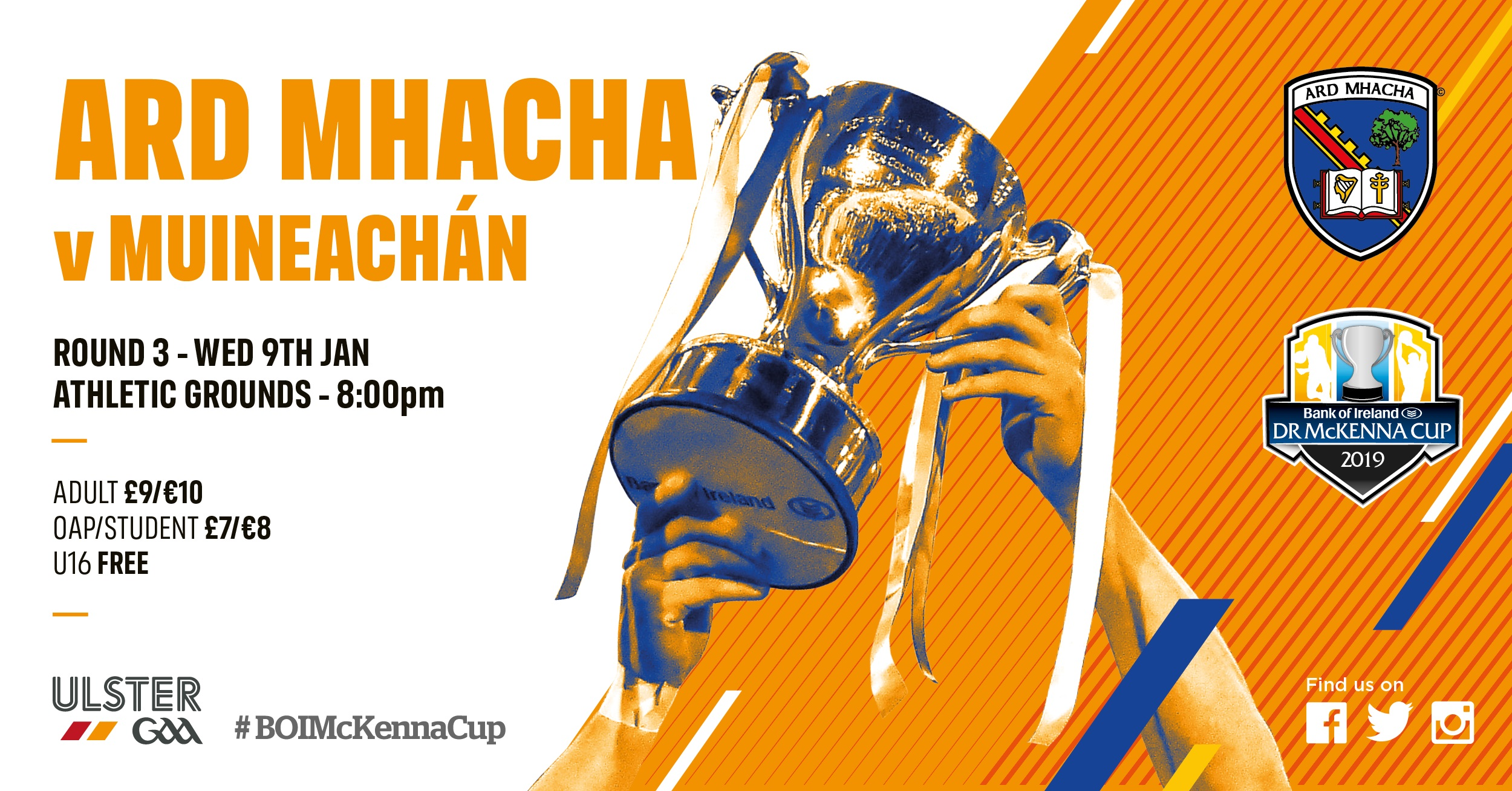 Link to Armagh name team to play Monaghan post