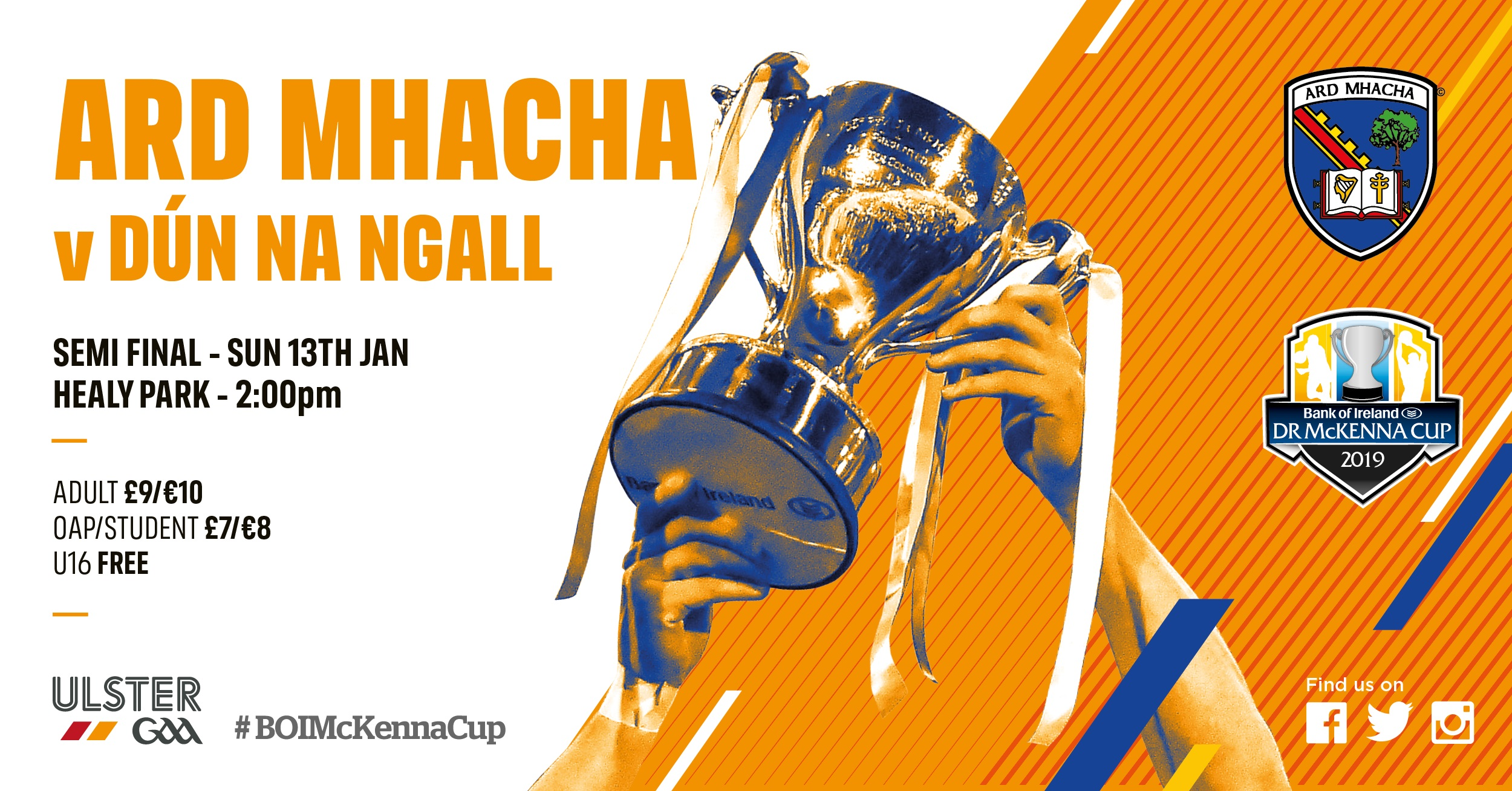 Armagh team named to play Donegal in semi-final