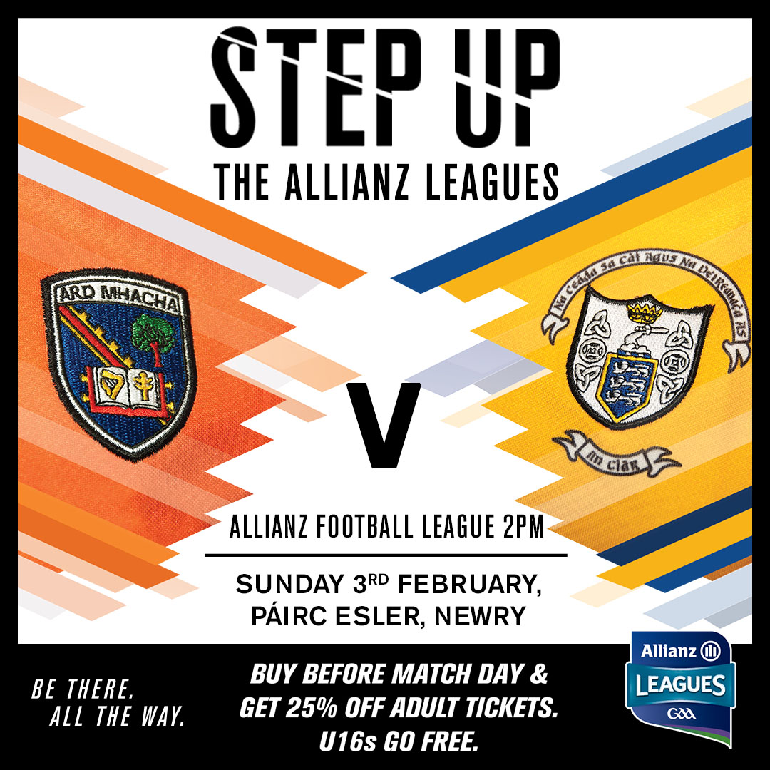 Ticket Information: Armagh v Clare