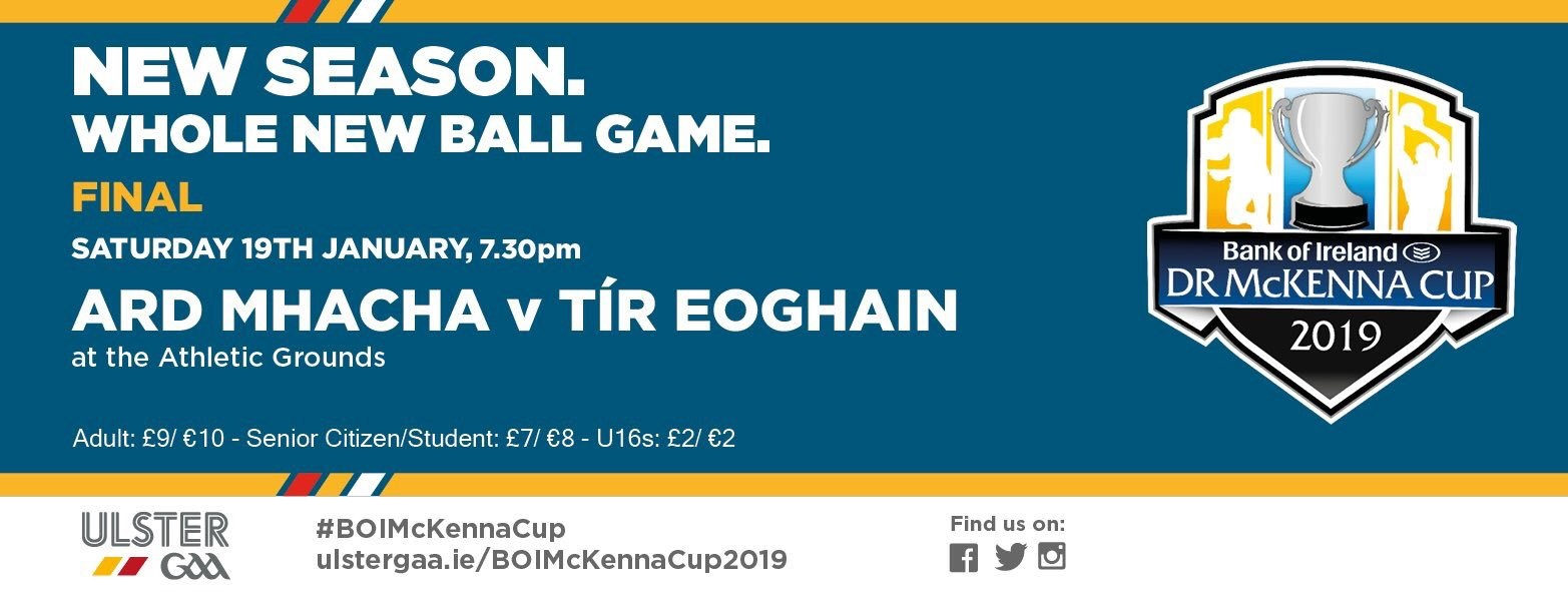 Dr McKenna Cup Final: Armagh v Tyrone