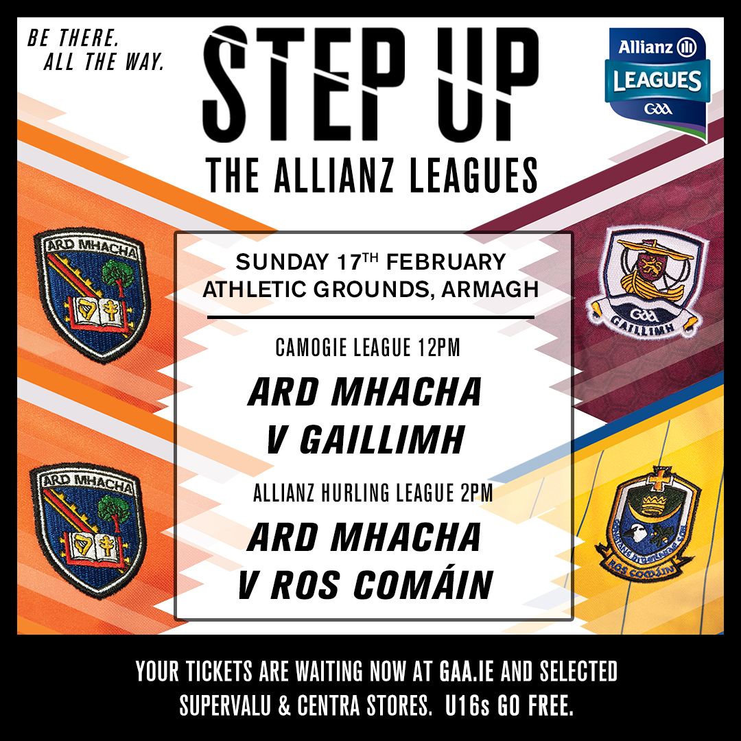 Double Header: Armagh Camogie & Hurlers